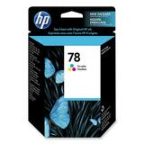 HP No. 78 Tri-Color Ink Cartridge