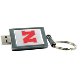 Centon 4GB DataStick Keychain University Of Nebraska Edition USB 2.0 Flash Drive
