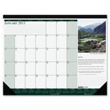 House of Doolittle Earthscapes Golf Course Desk Pad Calendar