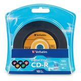 Verbatim Digital Vinyl 52x CD-R Media 96858