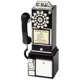 Crosley 1950 Standard Phone - Black CR56-BK