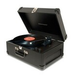 Crosley CR249 Black Record Turntable