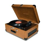 Crosley CR249 Tan Record Turntable