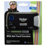 Sakar Vivitar 72-in-1 USB 2.0 FlashCard Reader/Writer - VIVRWALL