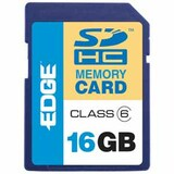 EDGDM-222604-PE - EDGE Tech HD Video 16GB Secure Digital High Capacity (SDHC) Card - Class 6