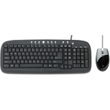 V7 CK0M1-6N6 Multimedia Keyboard and Mouse