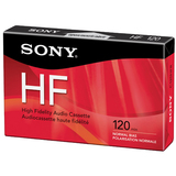 Sony C120HFR Hi Fidelity Type 1 Audio Cassette