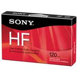 Sony C120HFR Hi Fidelity Type 1 Audio Cassette C120HFR