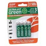 NABC High-Power Rechargeables ULGHP4AAA General Purpose Battery