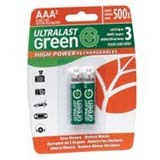 NABC High-Power Rechargeables ULGHP2AAA General Purpose Battery