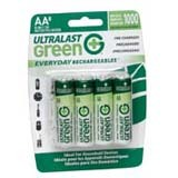 NABC Everyday Rechargeables ULGED8AA General Purpose Battery