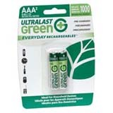 NABC Everyday Rechargeables ULGED2AAA General Purpose Battery - ULGED2AAA