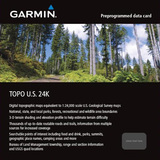 Garmin TOPO U.S. 24K - Mountain North Digital Map