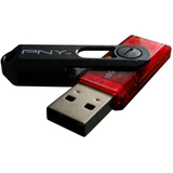 PNY 8GB Mini Attache USB 2.0 Flash Drive - PFD8GBMINIEF