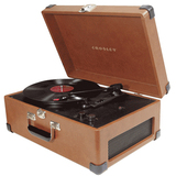 Crosley CR49 Tan Record Turntable - CR49TA