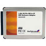 StarTech.com 1.8in 50 Pin IDE to Compact Flash Solid State Drive Enclosure Adapter IDE502CFE