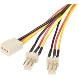 StarTech.com 12in TX3 Fan Power Splitter Cable - TX3SPLIT12