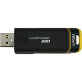 Kingston 64GB DataTraveler 200 USB 2.0 Flash Drive