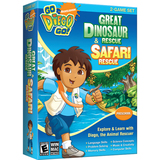 Nova Go Diego Go! Great Dinosaur Rescue & Safari Rescue 2-Game Set - 1 User
