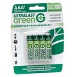 NABC Everyday Rechargeables ULGED8AAA General Purpose Battery