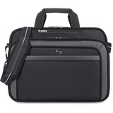 "Solo Sterling Carrying Case (Briefcase) for 17"" Notebook - Black"