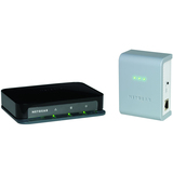 Netgear XAVB1004 Ethernet Switch - 200 Mbps HomePlug AV - 4 Port - XAVB1004100NAS