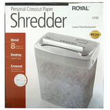 Royal Cross Cut Shredder
