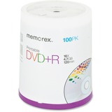Memorex 05623 DVD Recordable Media - DVD+R - 4.70 GB - 100 Pack Spindle