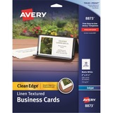 Avery Clean Edge Inkjet Business Card - 8873