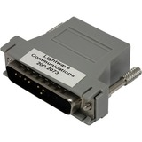 Lantronix RJ45 to DB-25 DTE Adapter