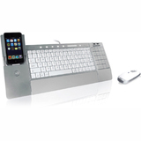 LifeWorks IH-K236LS iConnect Media Keyboard and Mouse for Mac