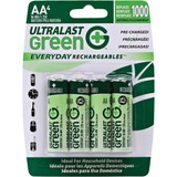 NABC Everyday Rechargeables ULGED4AA General Purpose Battery - ULGED4AA