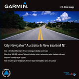 Garmin City GPS Australia & New Zealand NT Digital Map