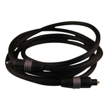dreamGEAR DGPS3-1301 Fiber Optic Audio Cable - 72 - Black