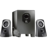 Logitech Z313 2.1 Speaker System - 25 W RMS - Black 980-000382