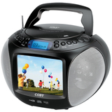 Coby TFDVD577 Radio/DVD Player