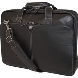 "MEBCL1 - Mobile Edge 16"" Deluxe Leather Briefcase"