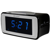 Emerson CKS9031 SmartSet Dual Alarm AM/FM Clock Radio