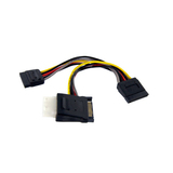 StarTech.com SATA to LP4 with 2x SATA Power Splitter - PYOLP42SATA