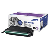 Samsung CLP-K660B High Capacity Toner Cartridge - CLPK660B2