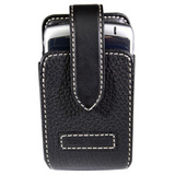 Xentris Smartphone Case - Leather - Black, Saddle
