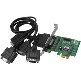 SIIG DP CyberSerial 4-port Serial Adapter JJ-E40011-S3