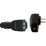 Scosche IP3IN1 Auto/AC Adapter - 5 V DC