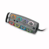 Kensington SmartSockets 8-Outlets Standard Adapter Surge Suppressor