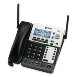 AT&T 4-Line Corded/Cordless Small Business System with Extendable Range