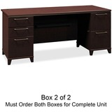Bush Enterprise 2972MCA2-03 Pedestal Desk Box 1 of 2