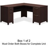 Bush Enterprise 2930MCA1-03 L-Shaped Desk Box 1 of 2