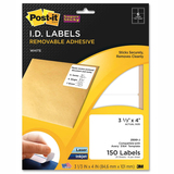 Post-it Super Sticky I.D Label