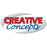 Creative Concepts CC-H45B 1' Low Profile Wall Mount