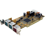StarTech.com 2x 12V 1x 24V PCI Powered USB Card